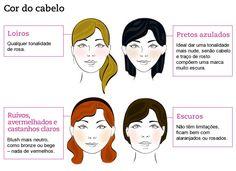 Aprenda a aplicar o blush de acordo com a cor do cabelo