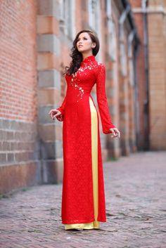 58 best :: Vietnamese Wedding Ao Dai & Traditional Dress :: images ...