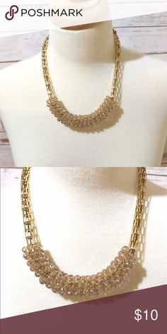 👜Gold Beaded Neclace👜 Lovely gold necklace. Perfect for any style Jewelry Necklaces