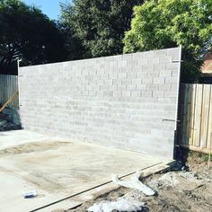Garage boundary block wall #ptfairy #portfairy #bricklaying #bricklyf #blocklaying #warrnambool3280 #warrnambool #knowlesbricklaying by knowlesbricklaying