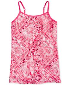 Epic Threads Bandana-Print Camisole Top, Big Girls (7-16), Only at Macy's