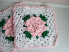 Ravelry: Rose Trellis Afghan pattern by Caron International Yarns