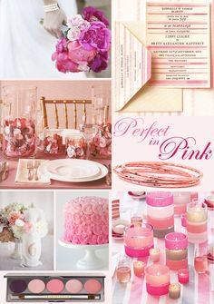 """""""Perfect in Pink"""" inspiration"""