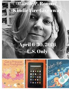 Carole P. Roman Kindle Fire Giveaway {US Only 4/30/16} - Daily Deals from a Nerd Mom
