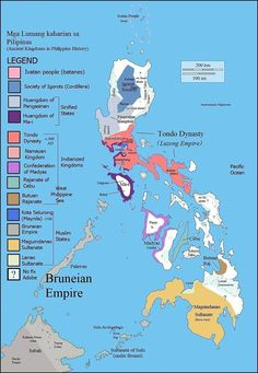 Political map of philippines with its islands an asian country the philippines prior to western contact gumiabroncs Images