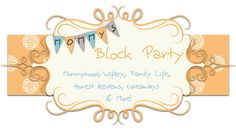 Mommy's Block Party is having a Mother's Day Extravaganza Giveaway. Pie Craft, Transportation Nursery, Giveaway, Blanket Rack, Discovery Toys, Temple Pictures, Crib Rail, Block Party, Snack