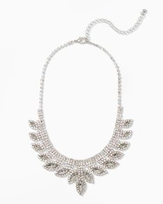 charming charlie | Mini Bib Marquise Necklace | UPC: 450900352646 #charmingcharlie