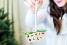 DIY ornaments for the holidays Christmas Party Decorations, Christmas Ornaments To Make, Little Christmas, All Things Christmas, Handmade Christmas, Holiday Crafts, Diy Ornaments, Holiday Fun, Festive