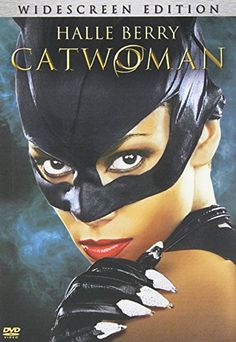 Catwoman Costume -Round of applause for Wonder Woman -Undistructable make-up -The editing was sooooooooooooooooooooo weird - Everybody was retarted and everyone who made this pile of poop knows it Catwoman 2004, Catwoman Cosplay, Dc Movies, Good Movies, Catwoman Halle Berry, Benjamin Bratt, Catwoman Selina Kyle, Univers Dc, Robin