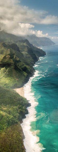 Waimea Canyon, Kauai, Hawai, USA gostaria de visitar algum dia lindo demais