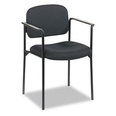Basyx by HON Guest Chair with Arms Black - UST305-1