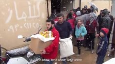 Little Black Book, 'Let It Snow' Receives a New Meaning in This Harrowing Red Cross Film. Duval Guillaume creates deeply moving film set to Dean Martin's Christmas classic Christmas Tv Adverts, Let It Snow, Let It Be, Social Campaign, Capitol Records, Little Black Books, Dean Martin, Red Cross, Music Publishing