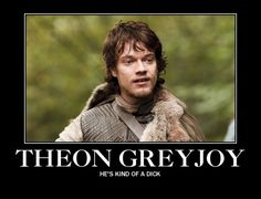 """Theon is a character we care about. 