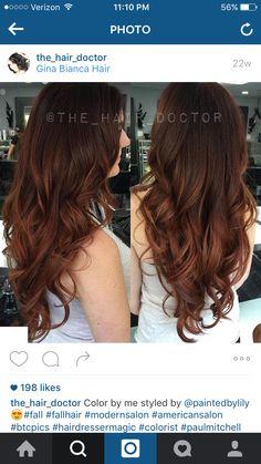 Brown Hair Color Shades, Hair Color And Cut, Brown Hair Colors, Auburn Hair Balayage, Haircut For Square Face, Hair Doctor, Fall Hair, Pretty Hairstyles, Dyed Hair