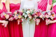 Bridesmaids in POPPY #LBDRealWedding