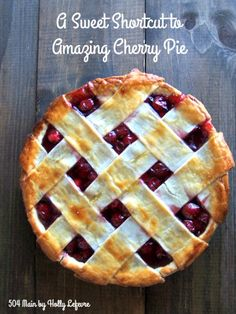 A sweet shortcut to making amazing cherry pie