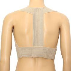 52d187022c71e Adjustable Posture Corrector Back Support Belt Shoulder Correct Lumbar Brace  Spine Alignment