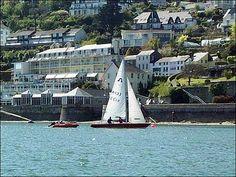 Sailing in the Salcombe Estuary