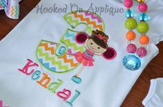 CHEER shirt, applique design from Hooked On Applique