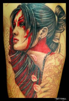 Tattoo by Ben Hamill