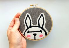 Bunny Rabbit Hoop Art