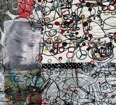Anna Torma Play III    silk, embroidery    detail