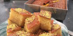 Είναι το ωραιότερο Σάμαλι με μαστίχα που έχεις φάει Cornbread, Ethnic Recipes, Food, Millet Bread, Corn Bread, Meals