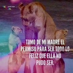 Mom Quotes, Panther, Destiny, 1, Dogs, Animals, Amor, Poetry Quotes, Spanish Quotes