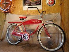 1955 Western Flyer bicycle - Buscar con Google