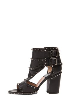 LAURENCE DACADE Deric Calfskin Leather Heels