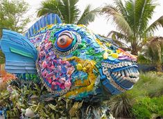 Massive Sculptures of Sea Life Made from Marine Debris by Washed Ashore Project Bring Ocean Pollution Threat to National Attention at SeaWorld Parks.