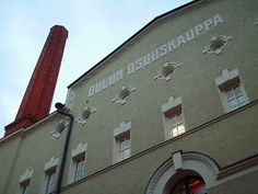 Detail of a factory building by Harald Andersin 1915. Oulu, Northern Ostrobothnia - Pohjois-Pohjanmaa - Norra Österbotten.