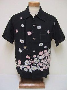 Santa Hula - Mens Hawaiian Aloha Christmas Shirt