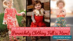 Persnickety Clothing Fall 2013