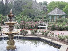 Garden Fountain Stock by chamberstock on DeviantArt