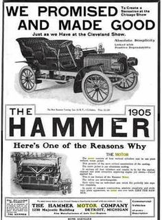 1905 Hammer Automobile Advertisement