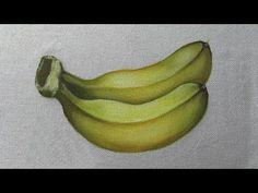 Como Pintar Bananas Nanica - YouTube