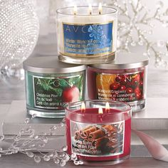 Fill your home with inviting scents this season with our #AvonHoliday candles!