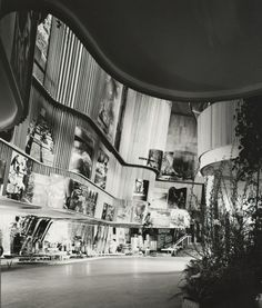 """scandinaviancollectors:  """"ALVAR AALTO, The Finnish Pavilion at the 1939 World's Fair in New York, USA. Photography by Ezra Stoller, image courtesy of Carnegie Museum of Art, copyright Ezra Stoller. / Dwell  """""""