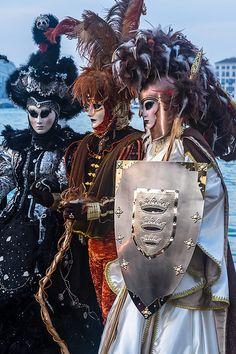 Venice Carnival 2014 by Cedric Favero Venetian Costumes, Venice Carnival Costumes, Venetian Carnival Masks, Carnival Outfits, Carnival Of Venice, Venetian Masquerade, Masquerade Ball, Masquerade Costumes, Venice Carnivale