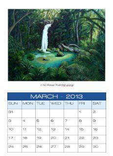 Art Calendar, Galleries, Image