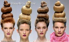This looks like a totally cool idea to do!!.......     ..........For wacky hair day