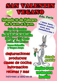 Feriavegana, 16 feb