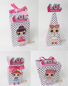 Having a LOL Surprise party and looking for some fun and great ideas for the kids to take home as party favors? We have gathered up some of the best LOL Surprise party favor ideas. 2nd Birthday Parties, Birthday Party Decorations, Party Favors, Birthday Present For Boyfriend, Doll Party, Lol Dolls, Candy Party, Party Time, Surprise Box
