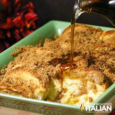 The Slow Roasted Italian - Printable Recipes: Overnight Gingerbread French Toast Casserole
