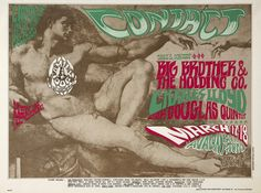 17.-18.3.1967; big brother and the holding company - charles lloyd - sir douglas quintet; usa, s.f., avalon ballroom; (db)