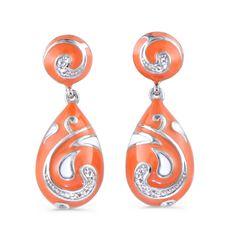 Coach Legacy, Fine Jewelry, Jewellery, Drop Earrings, Personalized Items, My Style, Tulips, Red, Enamel