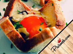 Ekmekte Yumurta Tarifi http://pisirmek.com/2014/03/ekmekte-yumurta-tarifi.html