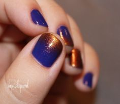 Ravenclaw nails