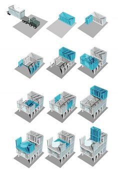 Cellophane House, A Modern Prefab Architecture   Design